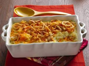 Crunch Onion Potato Bake