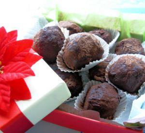 Truffes De Chocolat (French Chocolate Truffles)