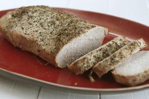 Oven-baked Pork Tenderloin