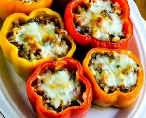 low-carb-high-fat-stuffed-peppers