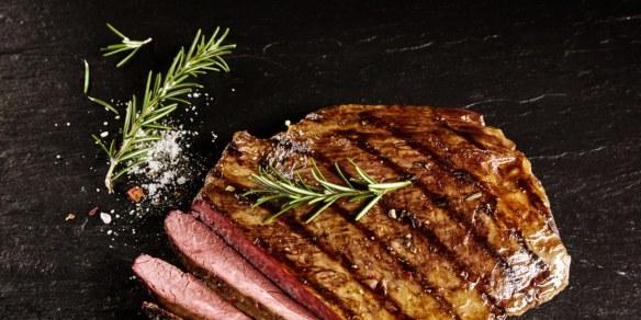 Garlic Marinated Grilled Flank Steak