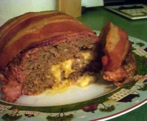 Bacon Cheeseburger loaf