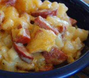 cheese-potato-and-smoked-sausage-casserole