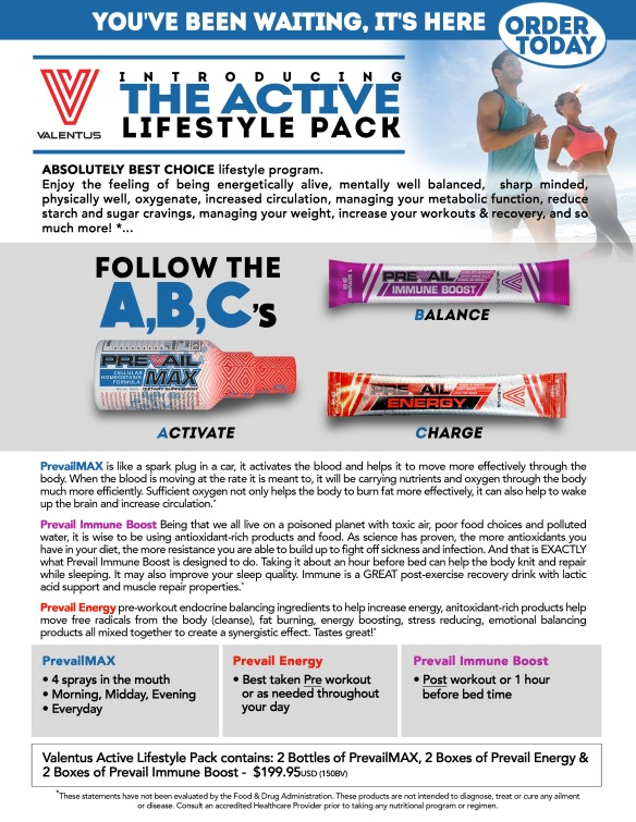 ActiveLifestylePackFlyer