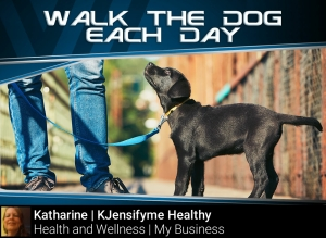 Tip #11 Walk your dog each day