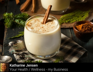 Tip 13 - cut eggnog by using fat free dairy milk and skip achohol