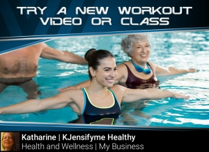 Tip #14 Try a new work out video or class