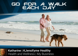 Tip #4 Go for a walk each day