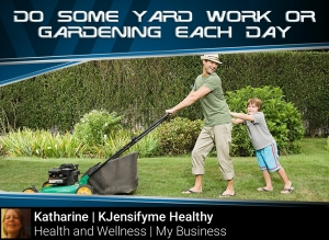 Tip #6 Yard work