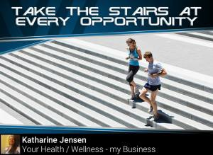 Tip #9 Take the stairs