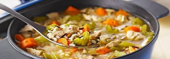 Turkeyand 7 Grain Soup
