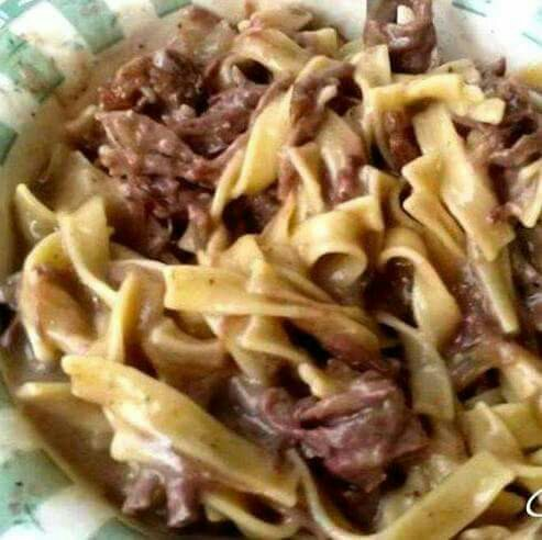 Homemade Beef and Noodles