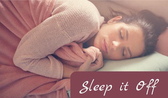 ZZZZZ!  Sleep!